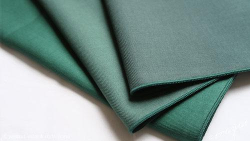 ウィンターの緑のドレープ3枚
