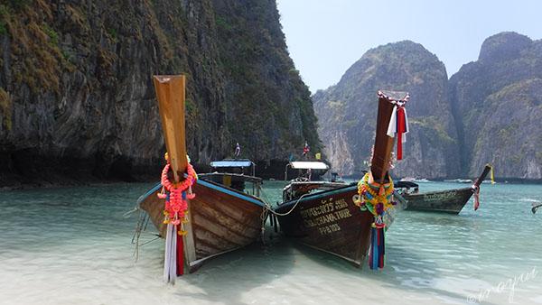 タイのプーケットのピピ島