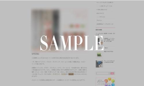 パーソナルカラー配色例ガウチョの会員限定ページ画像