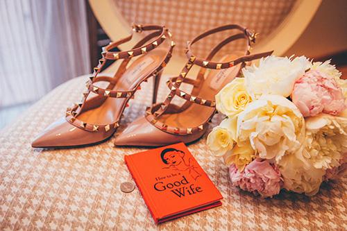 似合うファッションの靴