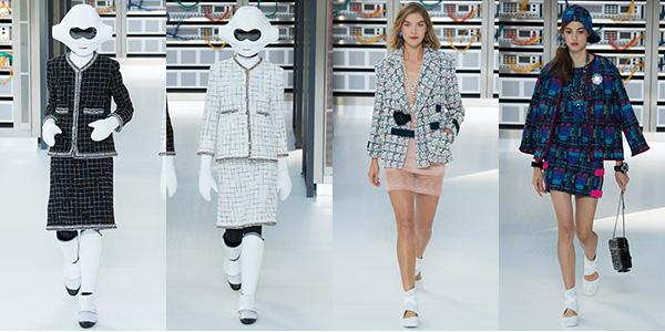 シャネル2017春夏スーツ
