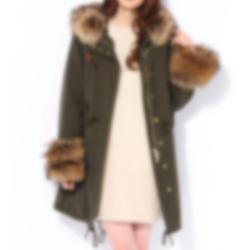似合うコートの例