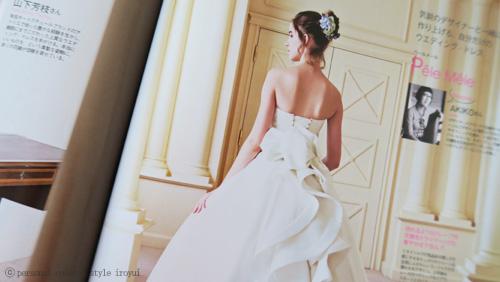 花嫁様の似合うウェディングドレス