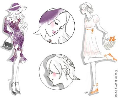 東京パーソナルデザインのロマンスとガーリッシュの目