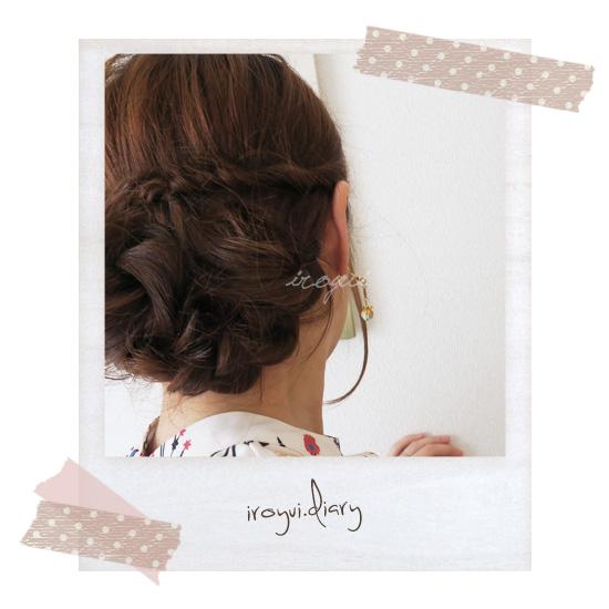 パーソナルデザイン分析キュートのヘアアレンジ