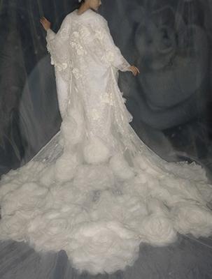 花嫁のブライダルパーソナルカラーの白無垢