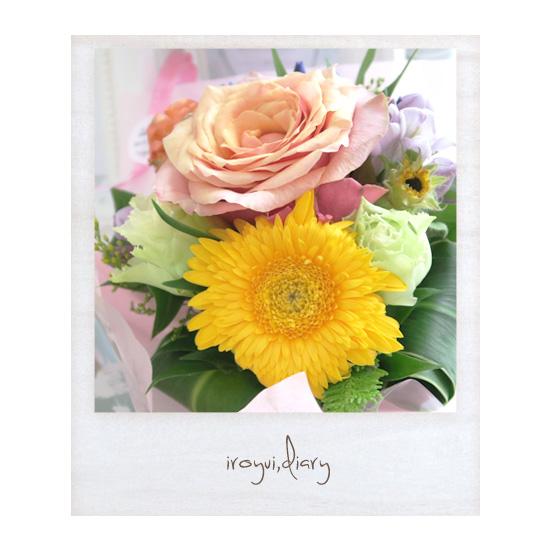 お客様からのお花