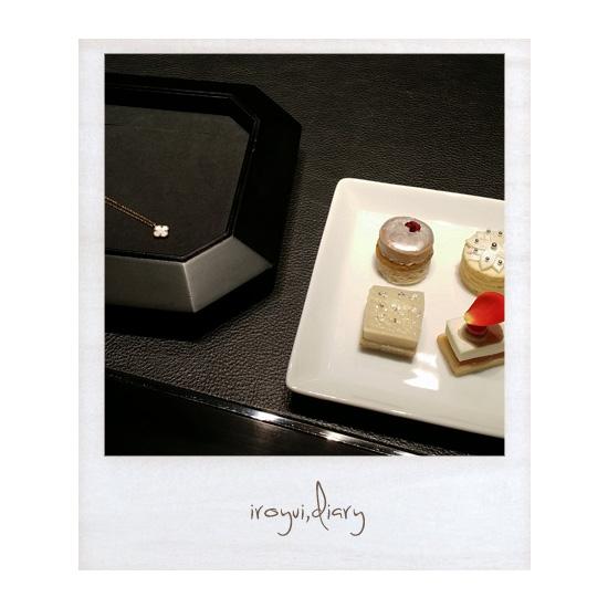vancleefarpels-sweet-alhambraお菓子
